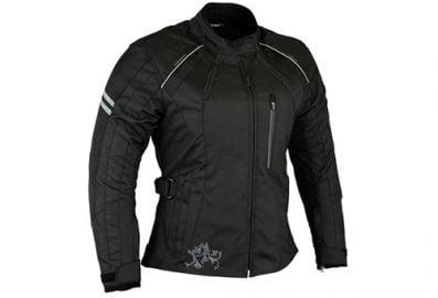 Trio vêtements de moto (Blouson en cordura + Gants + Pantalon)
