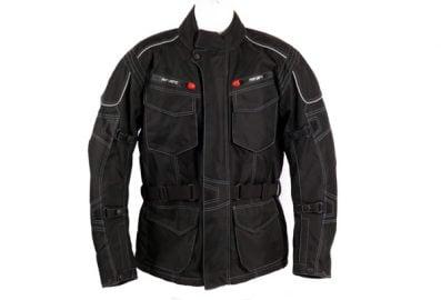 Blouson Airvent de style Custom en cordura noir