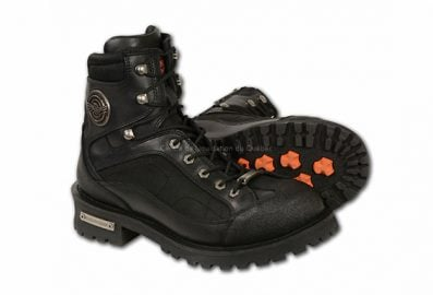 "mbm9080 ""Besoin Hauteur"" Dentelle Homme to Toe Boot w / vitesse Protection Shift"