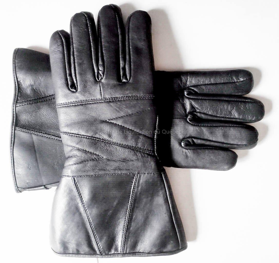 gants de cuir 3m - gant de moto