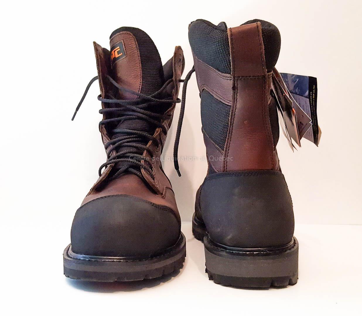 Chaussure de sécurité STC - Creston (botte sécurité) - Brun