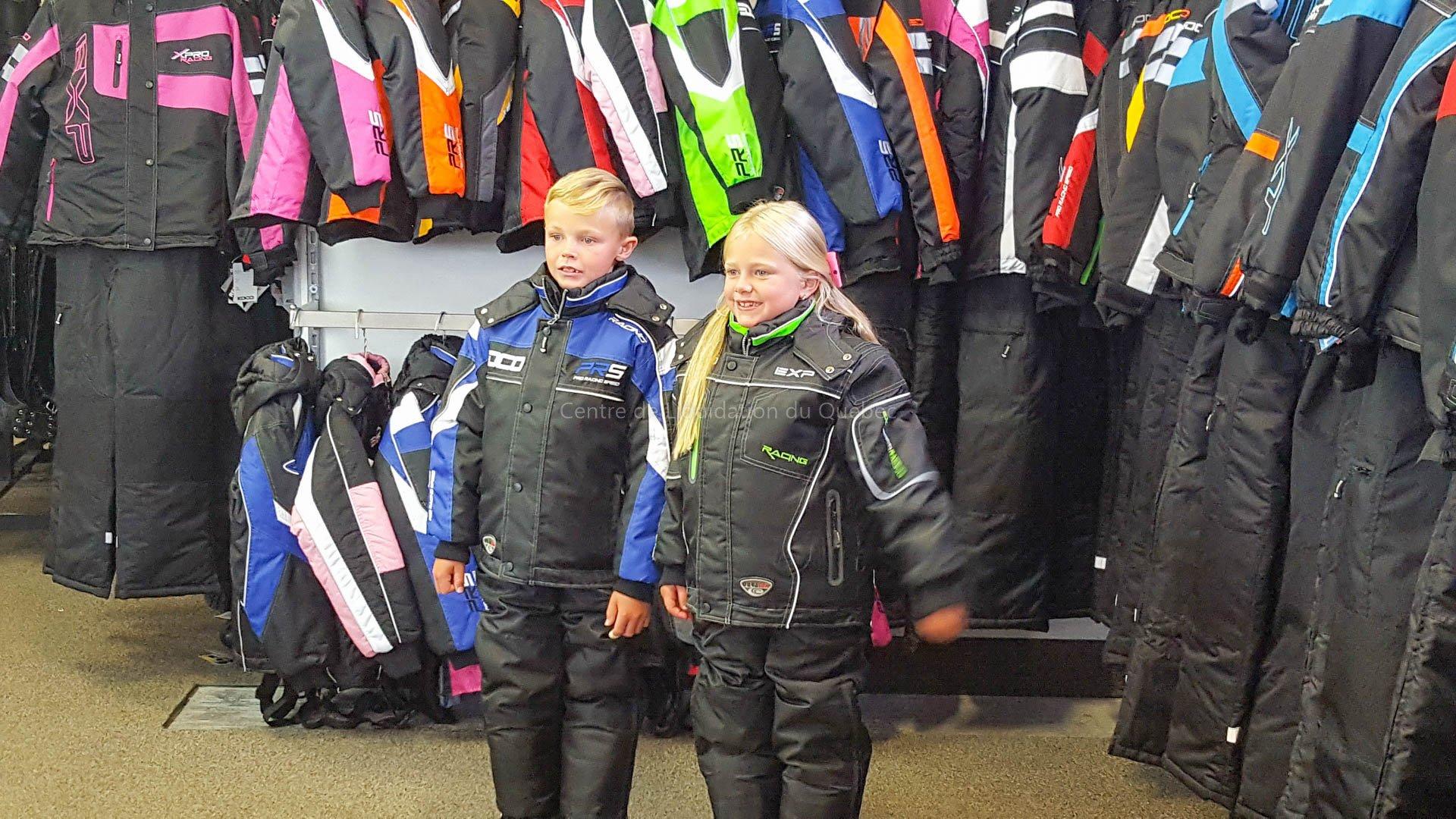 Ensemble de motoneige (motoneige & VTT) - habit de neige cordura