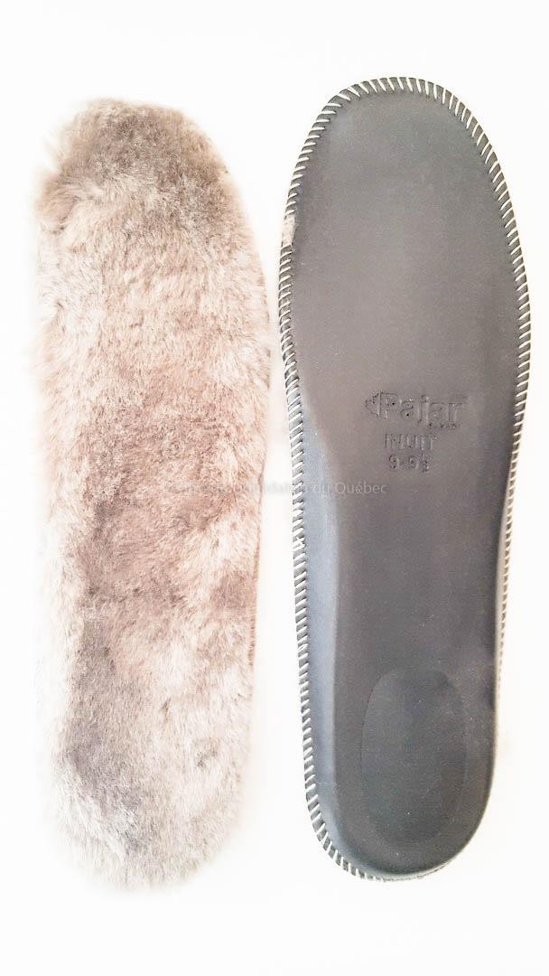 Semelle intérieure Inuit pour botte d'hiver Pajar (Femme)