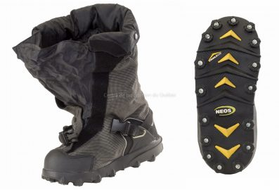 Couvre chaussure NEOS Navigator Stabilicer N5P3S Overshoes Couvre. Chaussure ISOLÉ avec CRAMPONS.