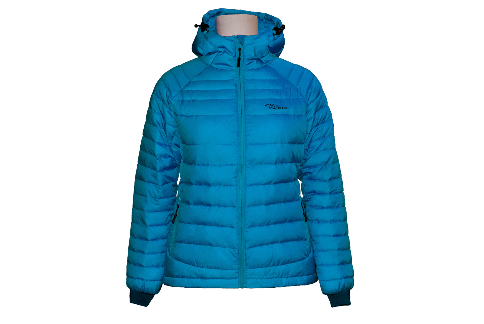 Manteau isolé pour femme PF490 (turquoise)