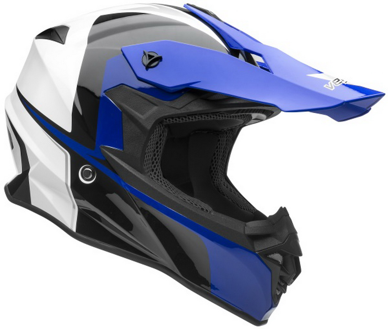 Casque de motocross nouvelle collection VF1 Off Road Stinger Blue