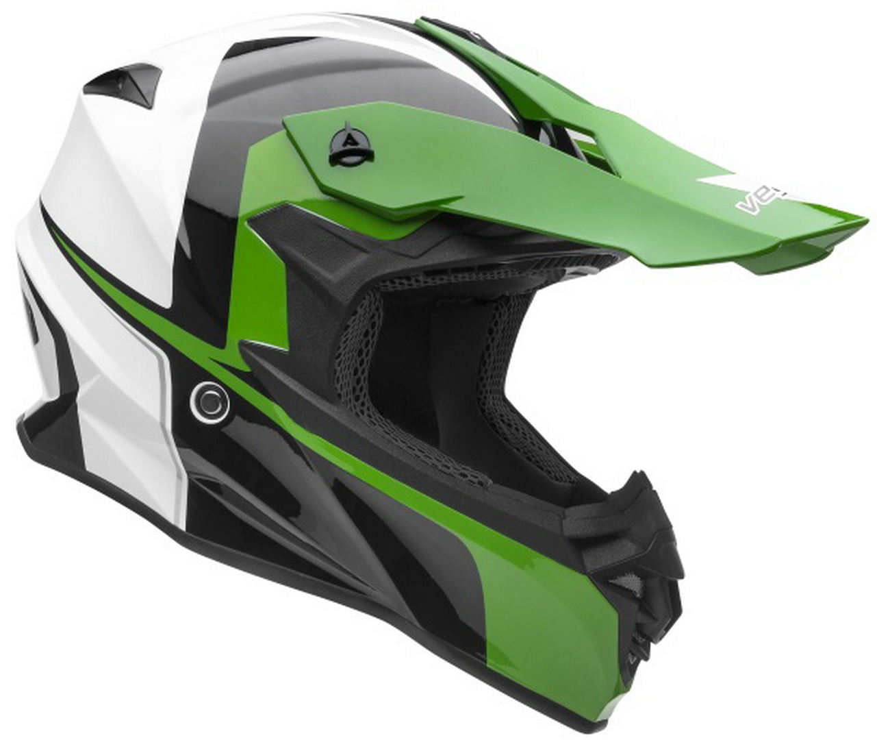 Casque de motocross nouvelle collection VF1 Off Road Stinger Hi-Vis Green