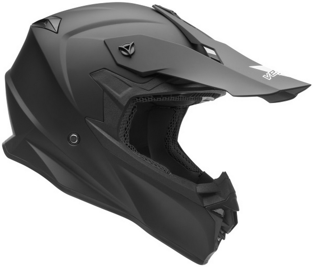 Casque de motocross nouvelle collection VF1 Off Road Noir Mat