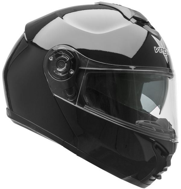 Casque modulaire de moto et VTT VR1 Modular Gloss Black
