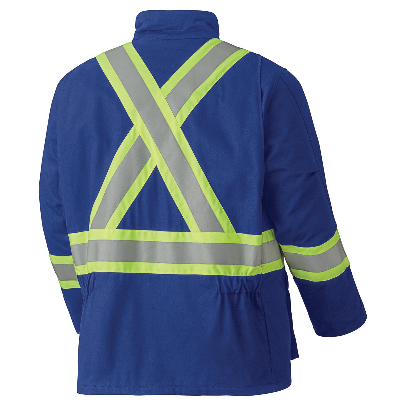 Manteau de sécurité ignifuge matelassé