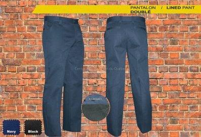 Pantalon de travail doublé GATTS