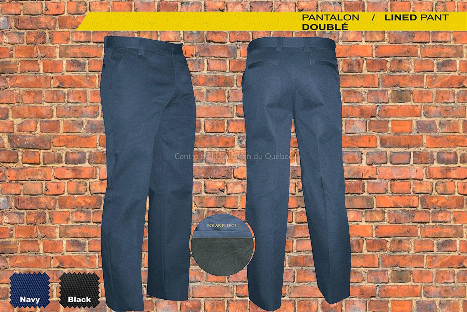 pantalon de travail doubl gatts 2 paires centre de liquidation du qu bec. Black Bedroom Furniture Sets. Home Design Ideas
