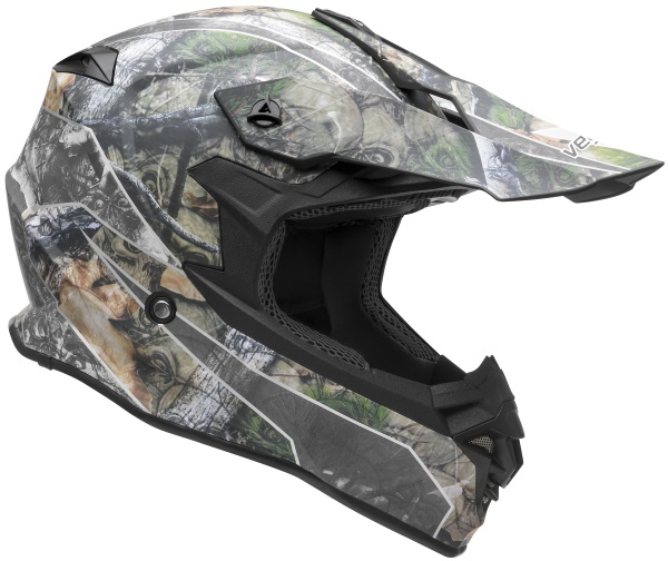 Casque de motocross nouvelle collection VF1 Off Road Skull Camo Graphic