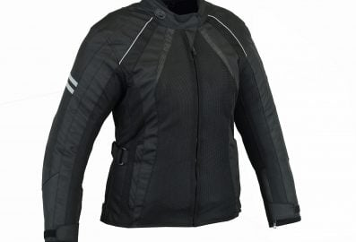 altimate Womens Bella Mesh Motorcycle Jacket-front
