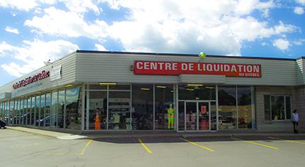 Centre de Liquidation du Québec - 1240, boulevard Charest Ouest