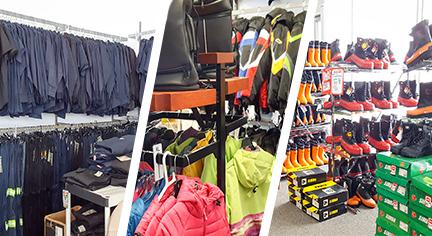 valise de moto, vêtements, bottes, département de travail