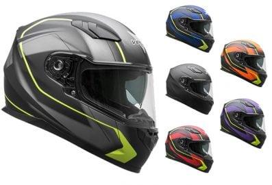 casque de moto, scooter et vtt slinger - RS1 couleurs