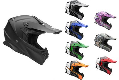 Casque de motocross nouvelle collection 2017