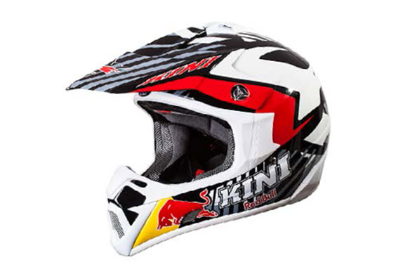 Casque motocross fibre de carbone KINI Red Bull REVOLUTION 2