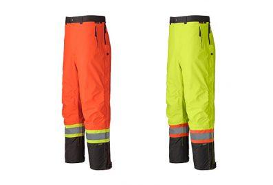 Pantalon imperméable et imper-respirant haute visibilité