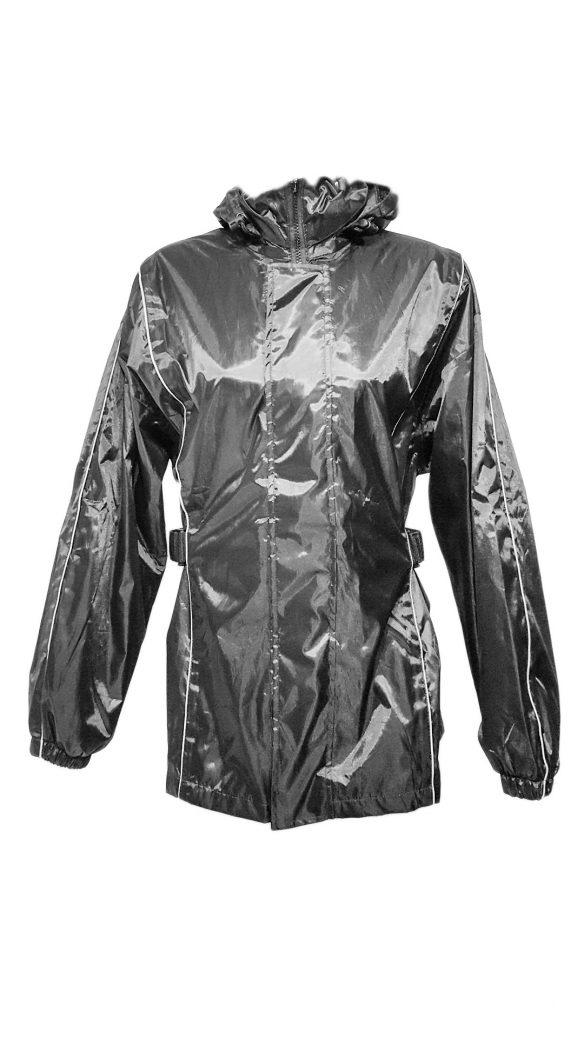 Blouson et pantalon protection par temps de pluie