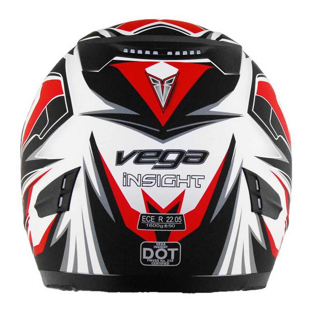 Casque de motoneige et VTT - Vega Insight - rouge