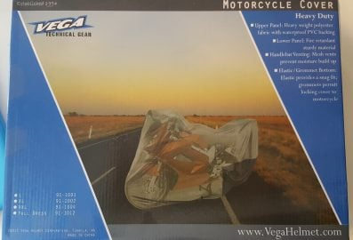Toile de protection pour moto T-1