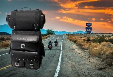 Valise arrière pour moto - V-30