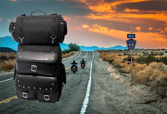 Valise arrière pour moto – V-30