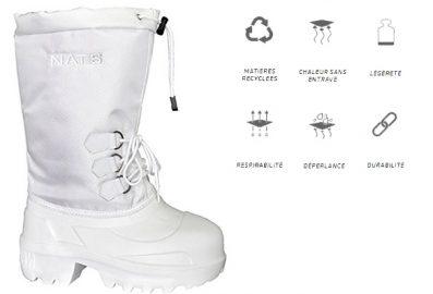 Botte d'hiver NATs R920. Bottes de neige