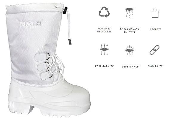 Bottes d'hiver ultra légère NAT'S R920 (femme)