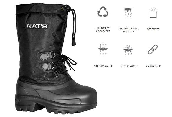Bottes d'hiver ultra légère NAT'S R900 (homme)