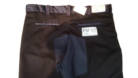 Pantalons de travail avec la protection Kevlar 5 plis