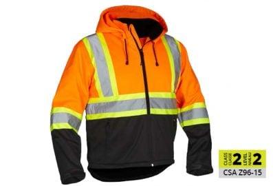 Veste de luxe de sécurité - orange