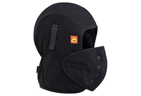 Sous-casque ignifuge matelassé - couvre-face amovible