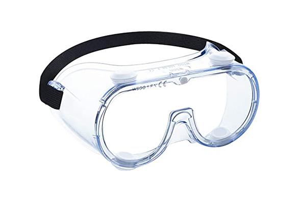 Lunettes de sécurité pour les yeux de lunettes de protection transparentes