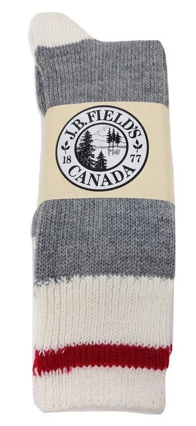 Chaussettes traditionnelles unisexe en laine (3 paires) - LÉGÈREMENT IMPARFAITES