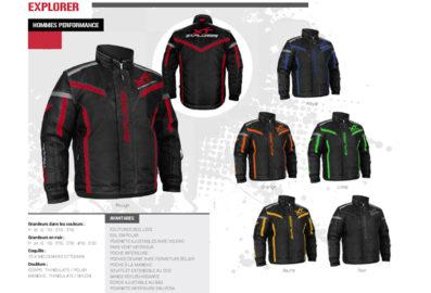 Ensemble de motoneige Explorer XT pour homme. Collection Automne 2020 – Hiver 2021