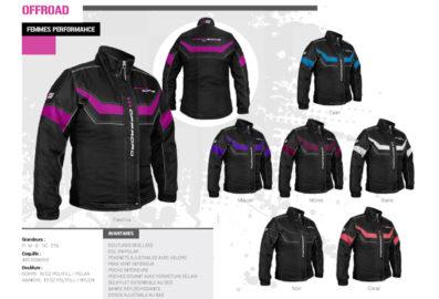 Ensemble de motoneige ZeroZone offroad (femme). Collection Automne 2020 – Hiver 2021