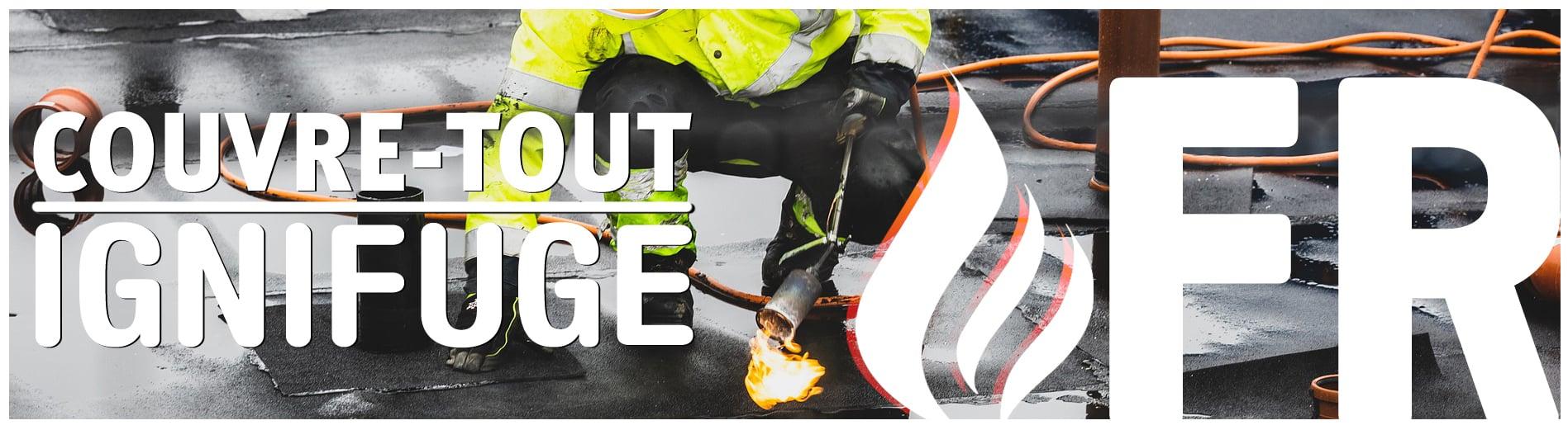 Banner IGNIFUGE | FIRE RESISTANCE (FR)