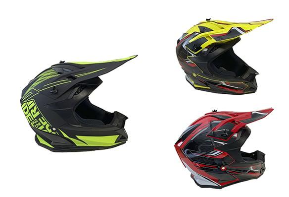 Casque de motocross BFR