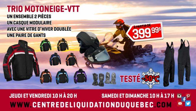 Promotions pour Motoneige-VTT - Centre de Liquidation du Québec - Septembre 2021
